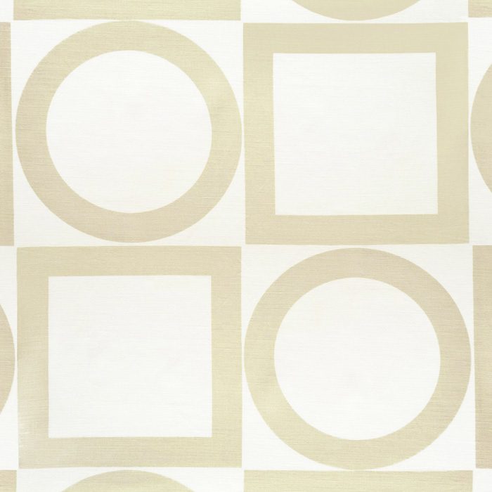 4007-01 Summer Square Sand - Victoria Hagan Fabric